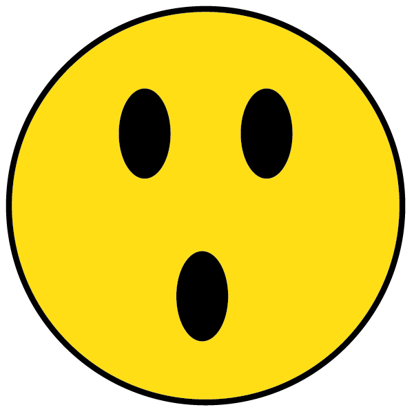 Shocked Happy Face - ClipArt Best