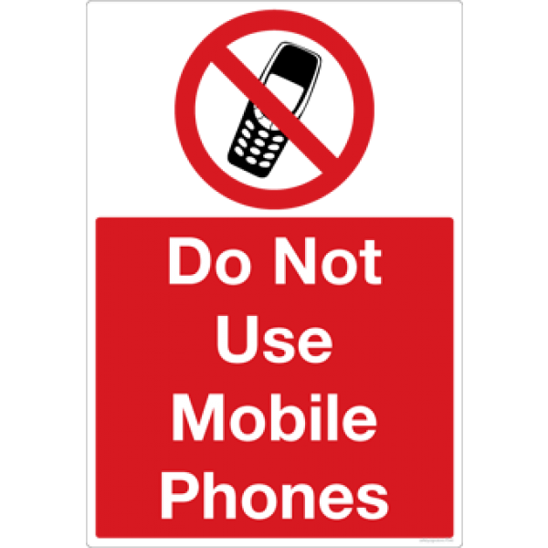 Do Not Use Cell Phone Signs Clipart Best