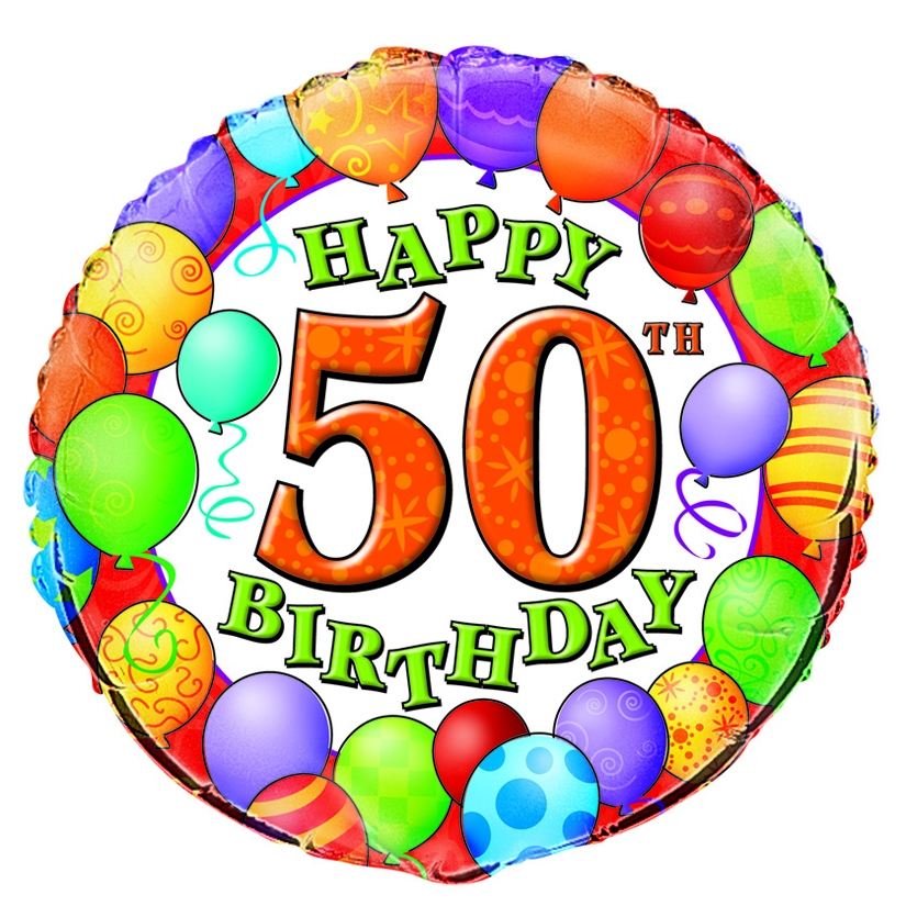 Happy 50th Birthday Clipart - ClipArt Best - ClipArt Best