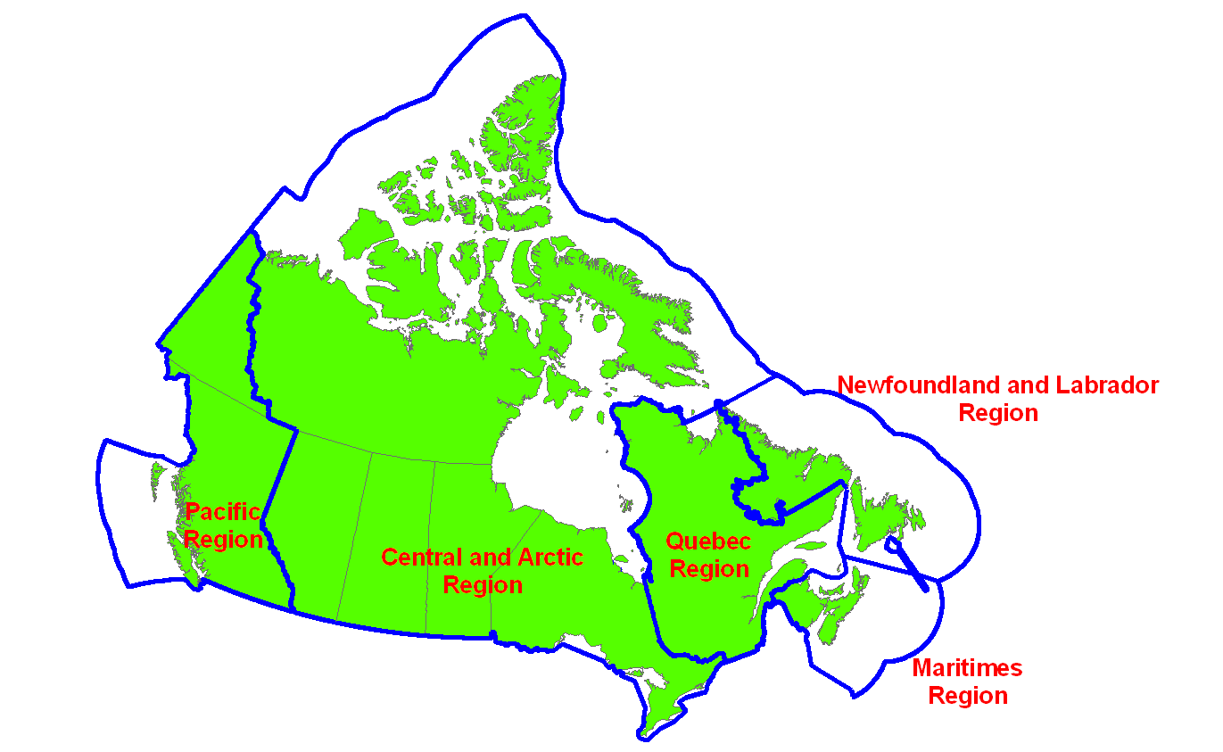 Canadian Time Zones Map ClipArt Best