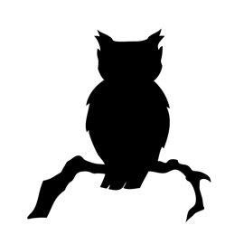 Owl Silhouette - ClipArt Best