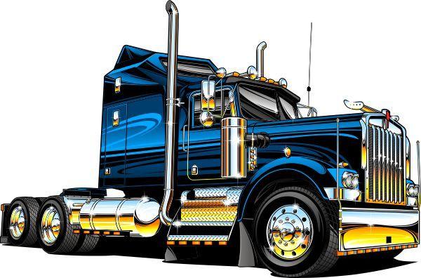 Semi Truck Clip Art - ClipArt Best