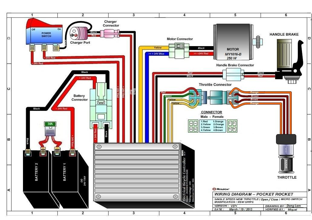 xtreme electric scooter wiring schematic wiring diagram razor e100 electric scooter - clipart best #8