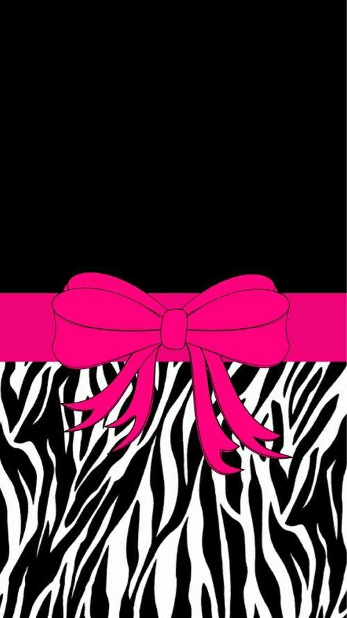 Hot pink zebra backgrounds for desktop