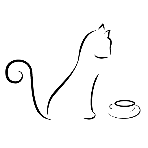 Simple Line Drawing Clip Art : Simple line drawings of cat clipart best