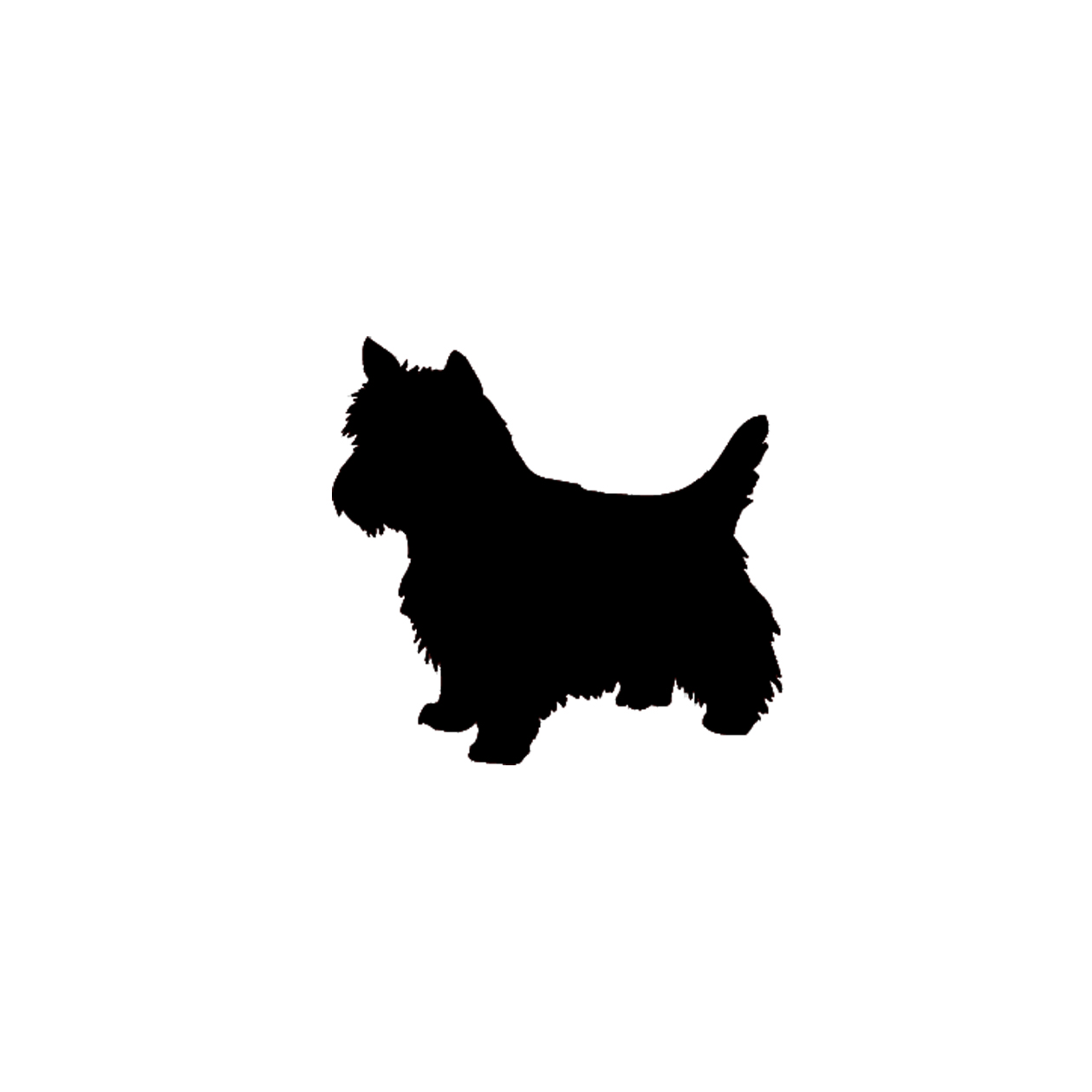 Dog And Cat Silhouettes Clipart