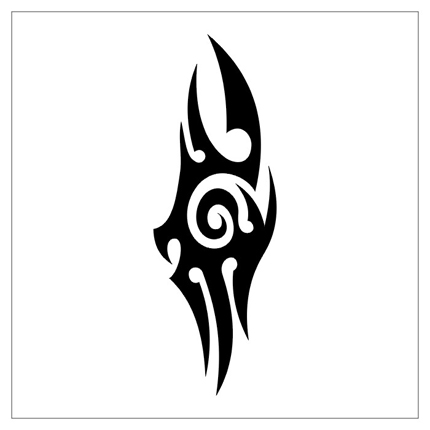 Tribal Simple Tattoo - ClipArt Best