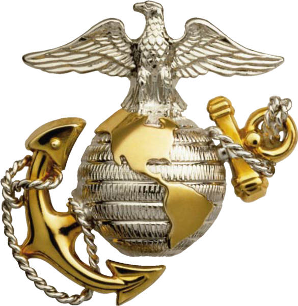 USMC emblem: Eagle Globe and Anchor and its meaning | Marine Corps ...