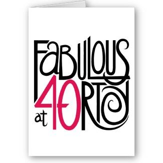 Happy 40th Birthday Pictures Clipart Best