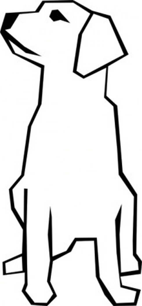 Simple Dog Clipart - ClipArt Best