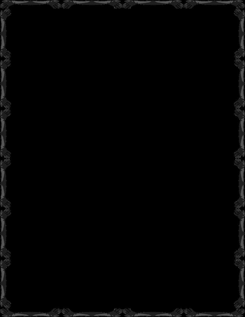 Simple Line Art Example : Simple border clipart best
