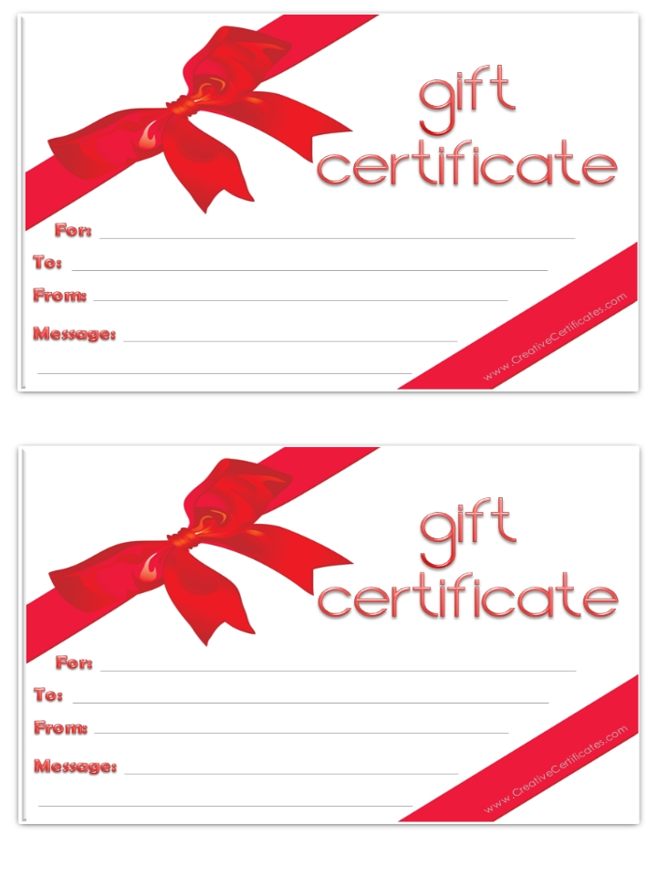 This is an image of Ambitious Gift Certificate Clip Art