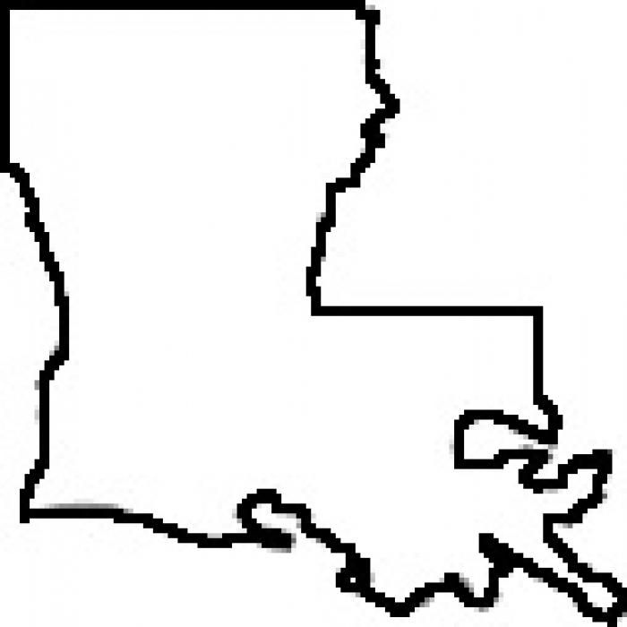 Outline Louisiana Clipart - ClipArt Best - ClipArt Best