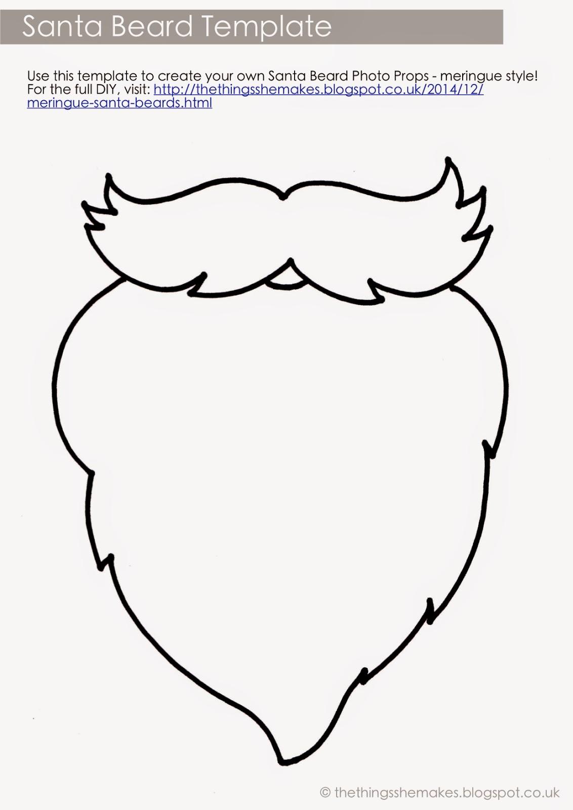 Как сделать бороду из бумаги своими руками 81