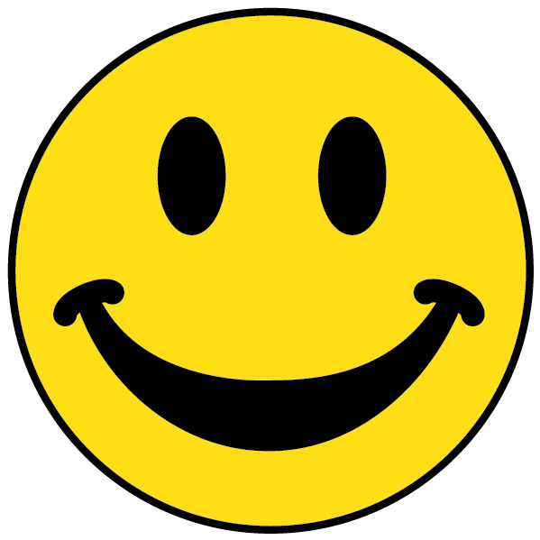 Super Happy Face Clipart