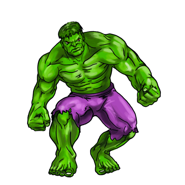 It is a picture of Ambitious Incredible Hulk Clipart
