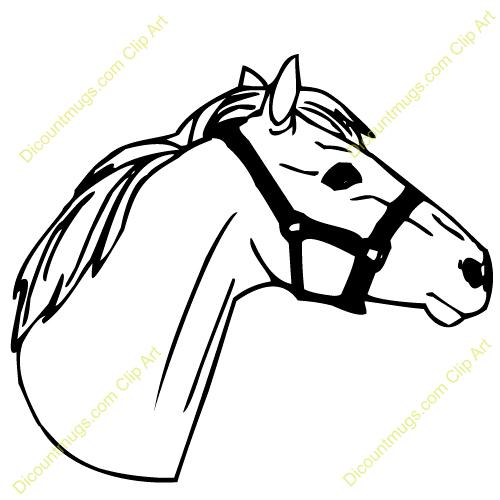 Clip Art Horse Head Clipart horse head clip art clipart best arabian panda free images