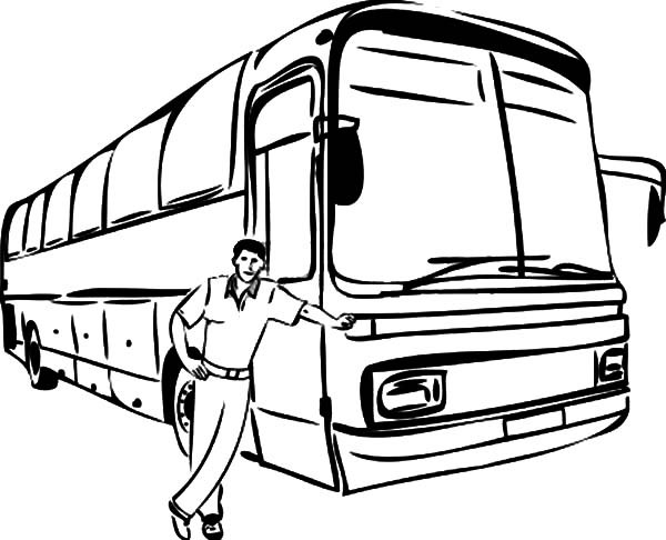 Simple Bus Coloring Page. The Magic School Bus Coloring Pages - ClipArt  Best - ClipArt Best