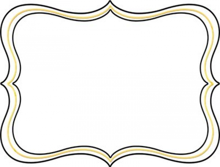 Picture Frame Clip Art Free Clipart Best