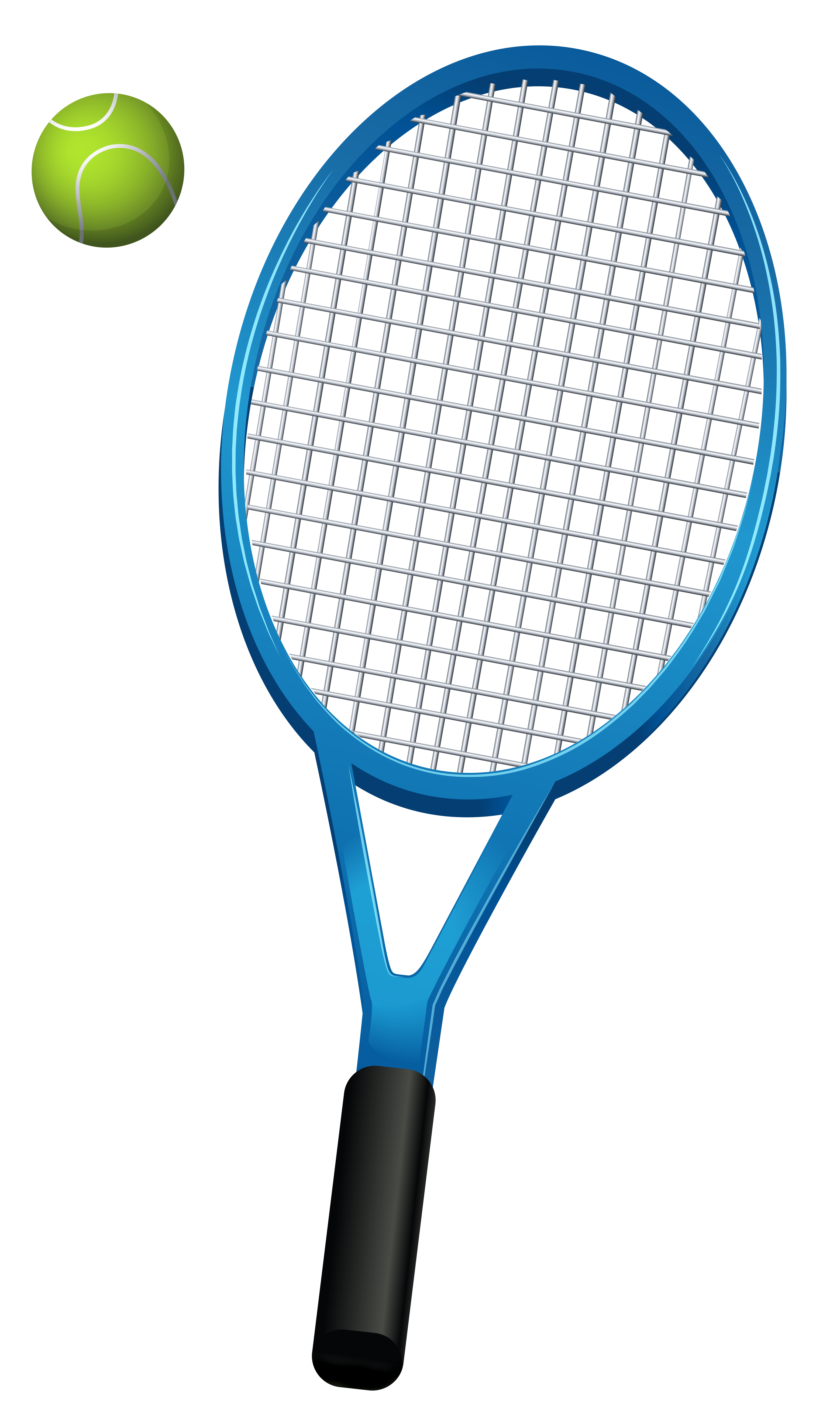 Picture Of A Tennis Racket Clipart Best