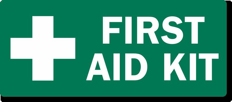 First aid box clipart printable