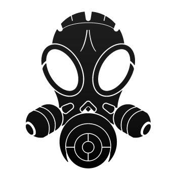 skull gas mask clipart best. Black Bedroom Furniture Sets. Home Design Ideas