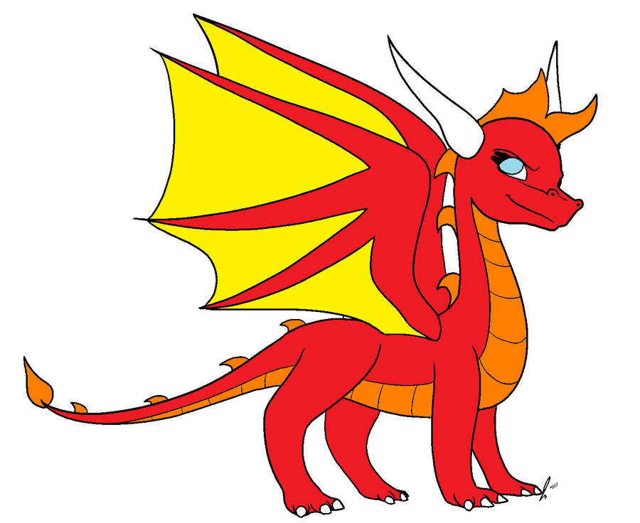 Female Red Dragon for sale for 5 points - ClipArt Best - ClipArt Best