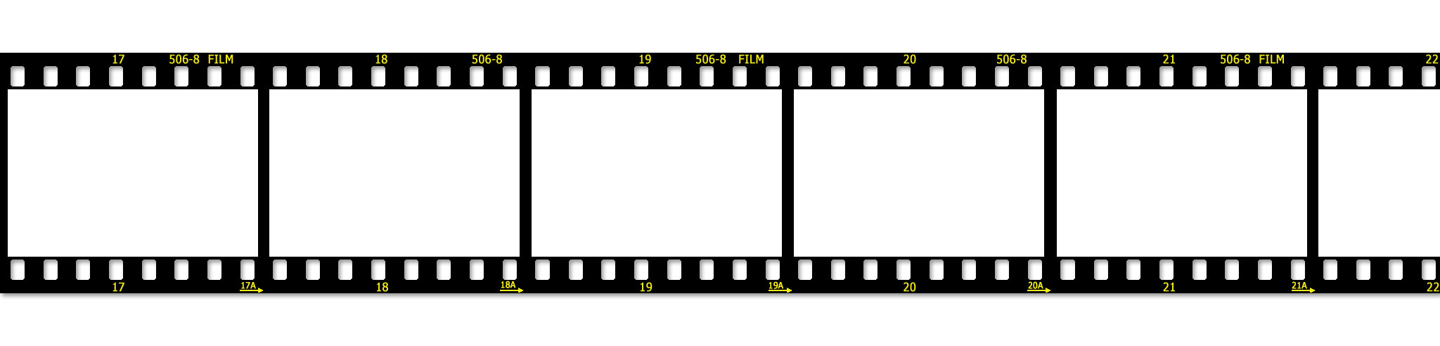 Flickr cover film strip template jpg the barefoot for Film strip picture template