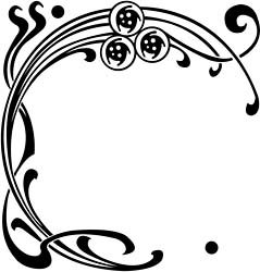 Art nouveau frames clipart best for Art nouveau shapes