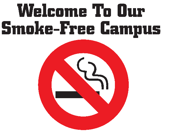 smoke free campus Chicago state university is going smoke-free to support a healthy learning environment for students, a healthy work environment for faculty and staff, and to comply with illinois' smoke-free campus act prohibiting smoking on each campus of a state-supported institution of higher education.