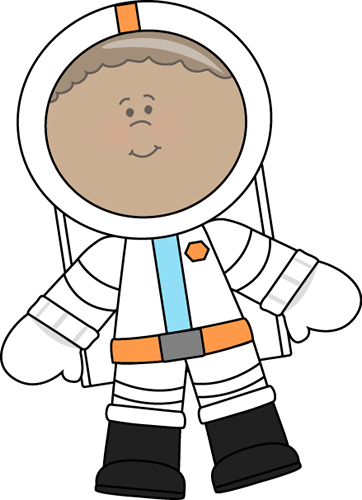 Space Clipart For Kids Little boy astronaut clip art