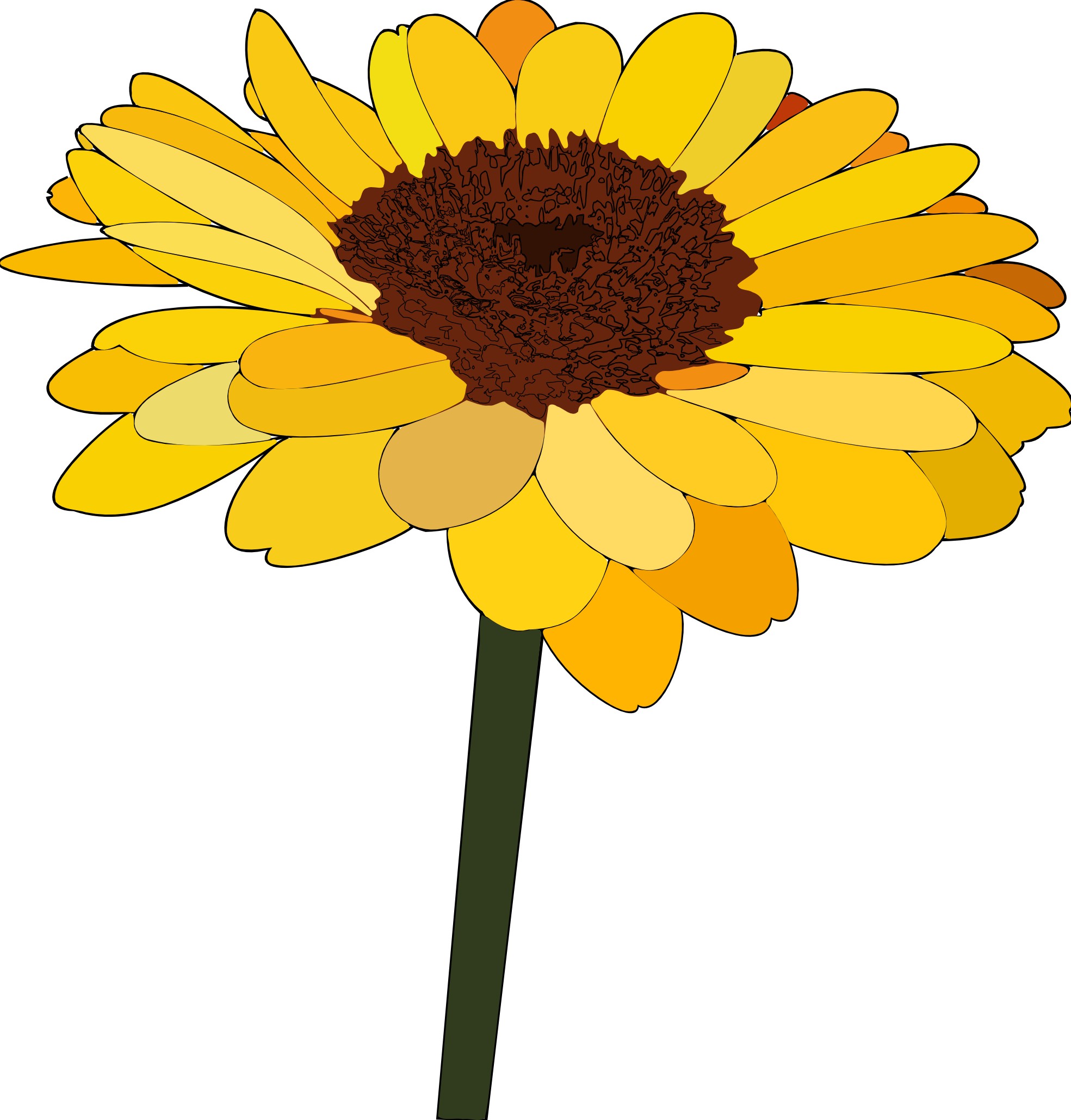 Sunflower Clipart Png Sunflower Clipart