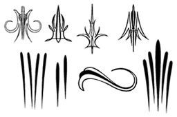 Pinstriping Vector Free Clipart Best