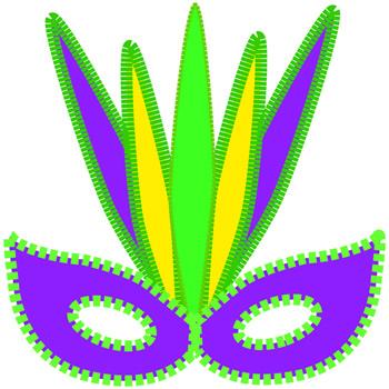 Mardi Gras Beads Clip Art Mardi gras clip art - free