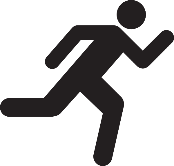 Running Man Stick Figure