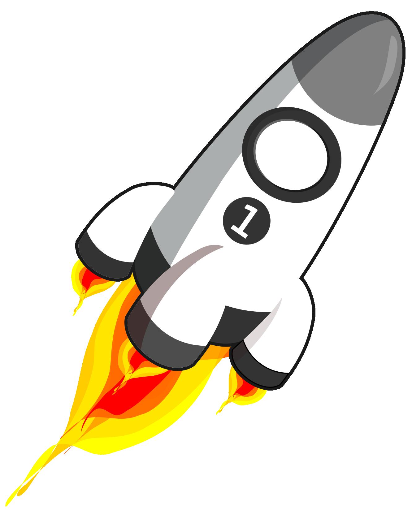 free cartoon rocket ship clip art - photo #23