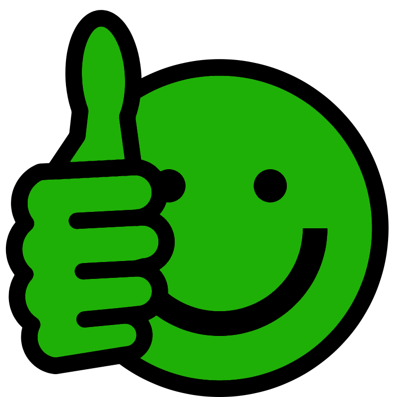 Thumbs Up Smiley - ClipArt Best