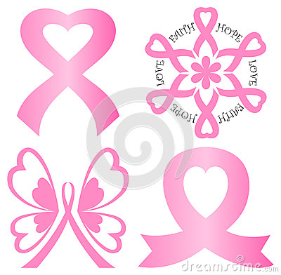 Breast Cancer Ribbon Logo Clip Art I3L3Q3UA | Your Health ...