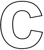 Letter c worksheet - Phonemic Awarenes - Colors & Spatial Skills ...