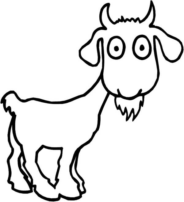 g for goat coloring pages - photo #45