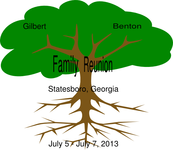 African American Men Family Reunion Clipart - ClipArt Best