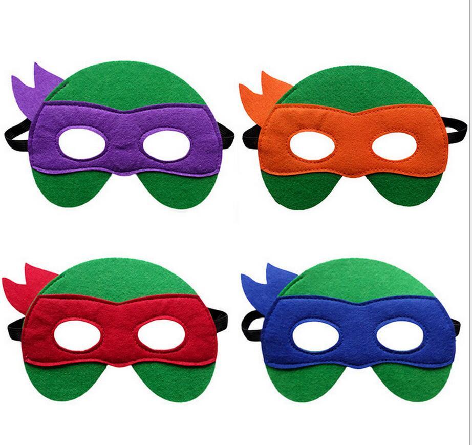 Ninja turtles mask colors