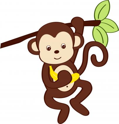 Cute Animated Monkeys - ClipArt Best