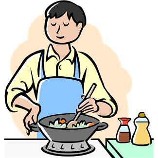 Kitchen Clipart Man Cooking Clipart Kitchen Cooking Clip Art Clipart Best Clipart Best