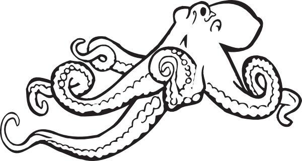 Free Octopus Drawings Octopus Drawing Octopus