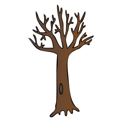 Bare Brown Tree Wall Decal by Kowalla - ClipArt Best ...