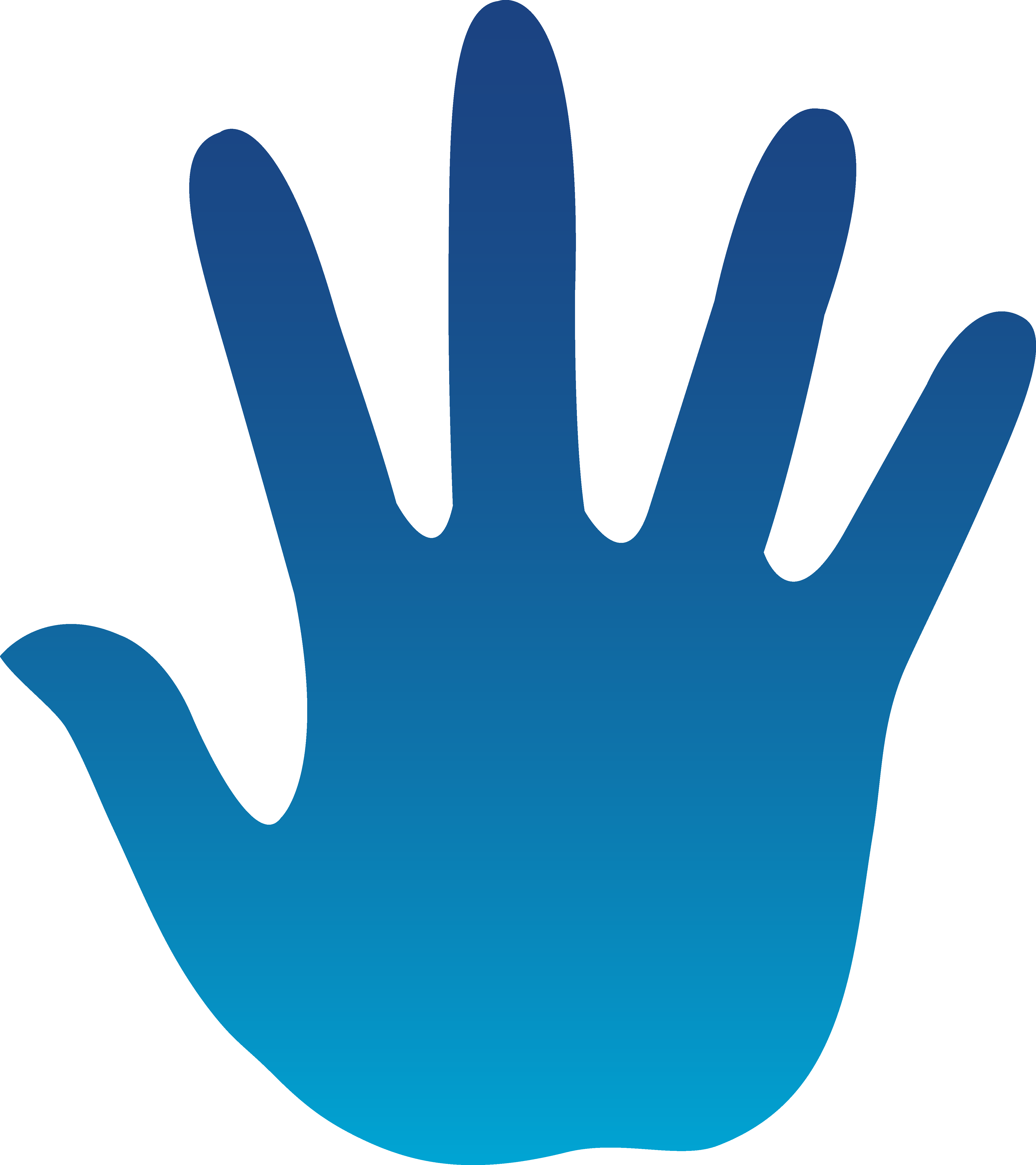 Handprints - ClipArt Best