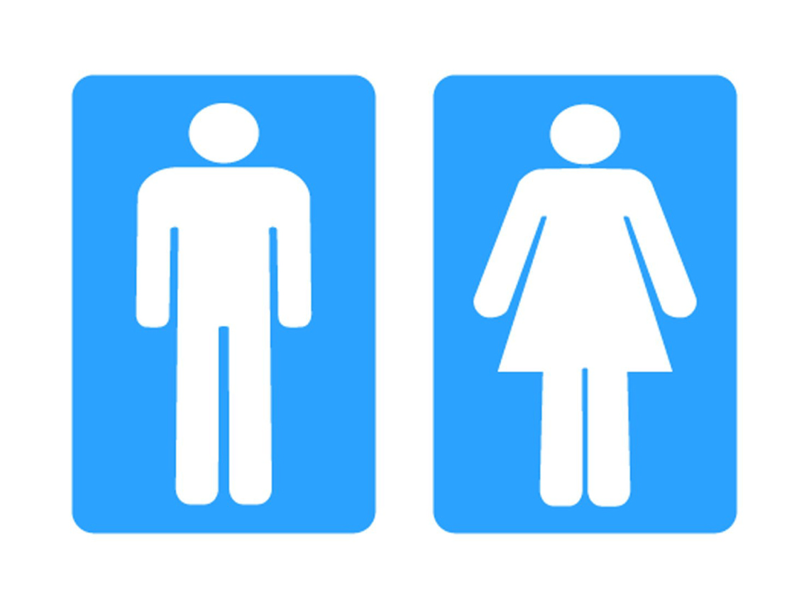 Mens And Ladies Toilet Signs Clipart - Free to use Clip Art Resource