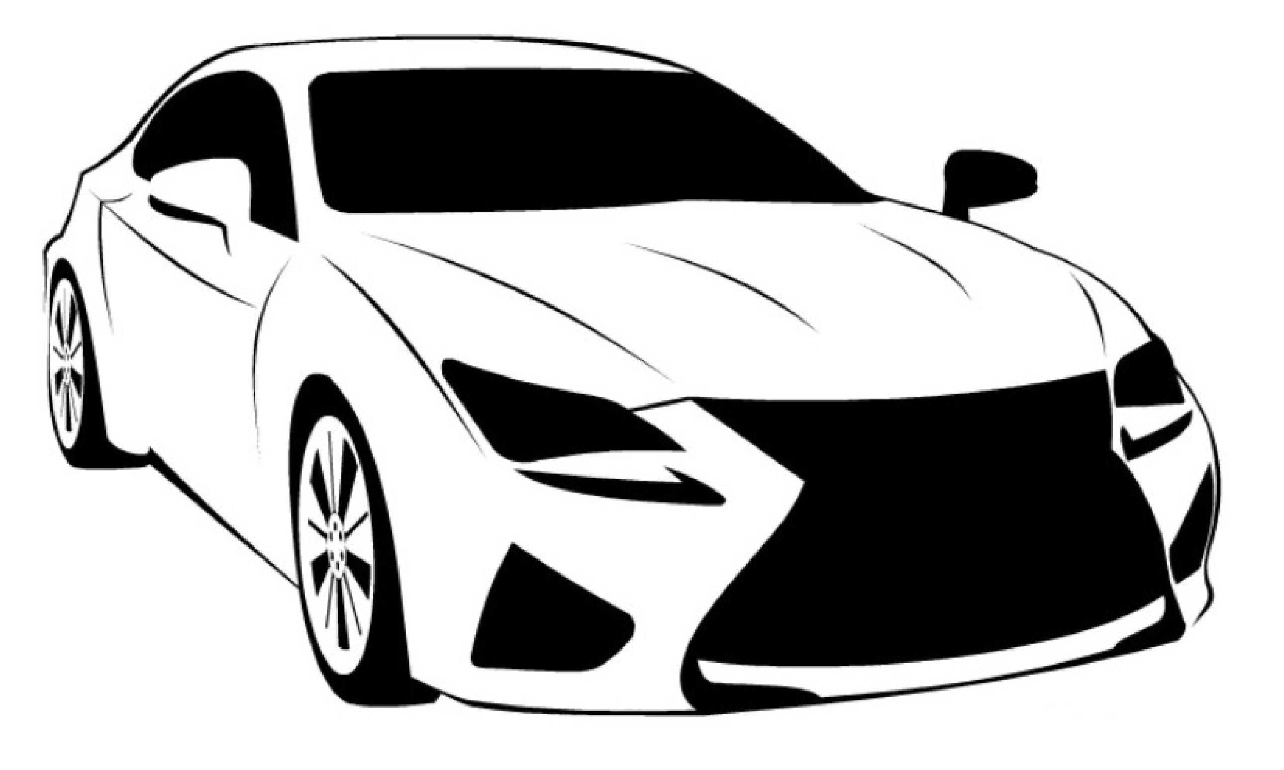 free car silhouette clip art - photo #44