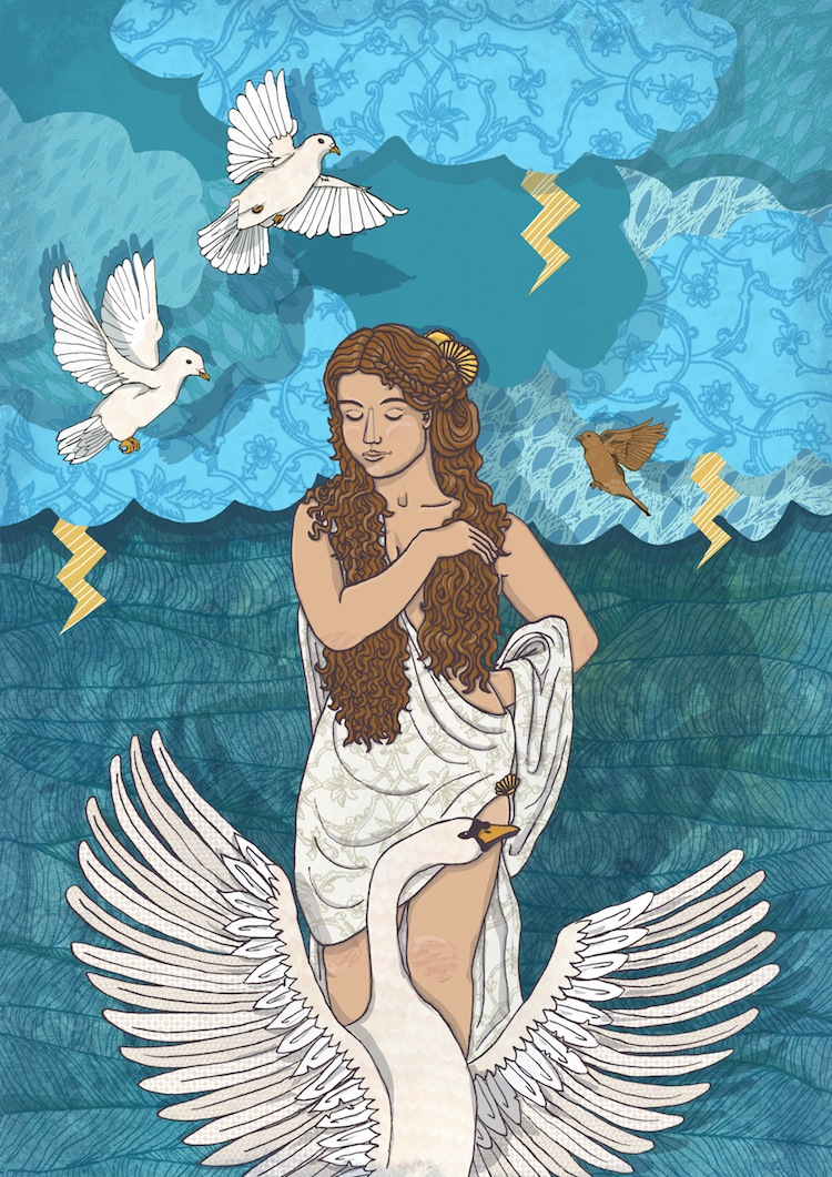 an analysis of the myth of aphrodite an olympian goddess Learn about the greek goddess of  hera is the queen of the gods and is the wife and sister of zeus in the olympian  who chose aphrodite over hera as the.